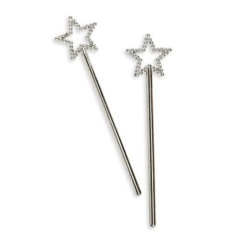 Sliver Mini Star Wand-12ct