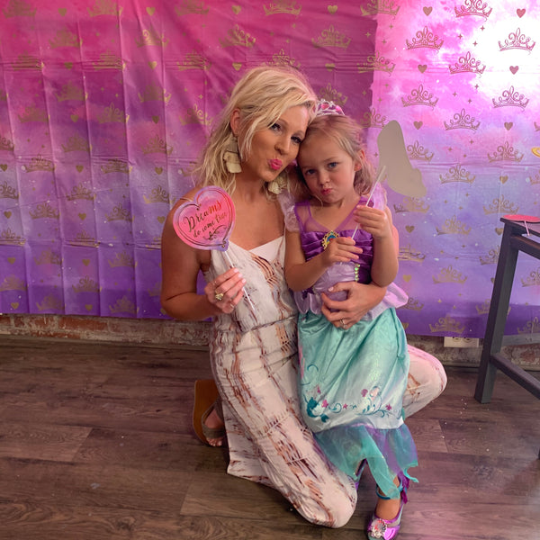 Elle's Princess Makeup Birthday Party