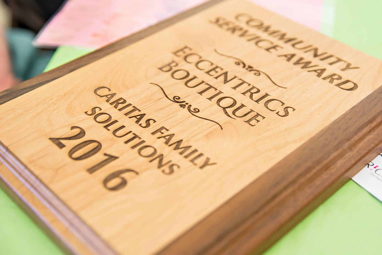 Caritas Family Solutions 2016 Community Service Award Winners Eccentrics Boutique