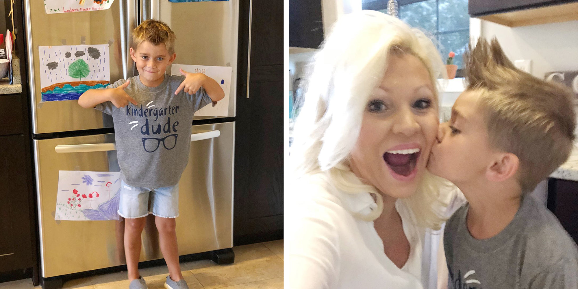 boss mom doesn't miss son's first day of kindergarten - balancing work and mom life