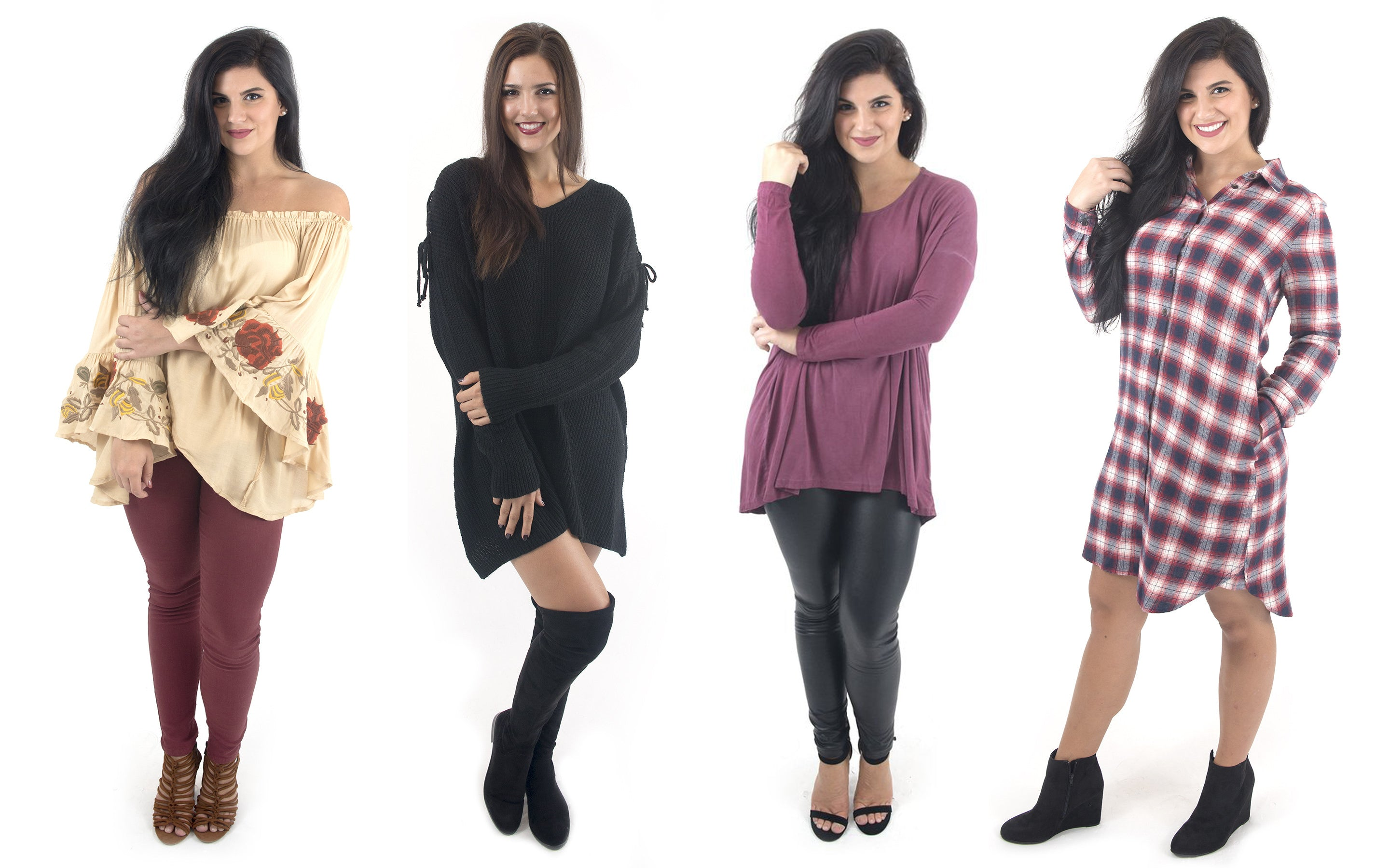 Casual Thanksgiving dinner outfit ideas at Eccentrics Boutique