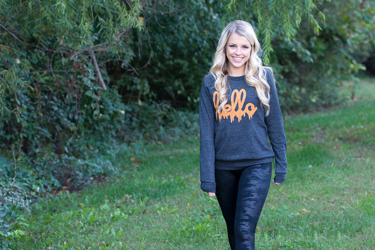 women's stylish Halloween graphic tees and Halloween graphic sweaters at Eccentrics Boutique