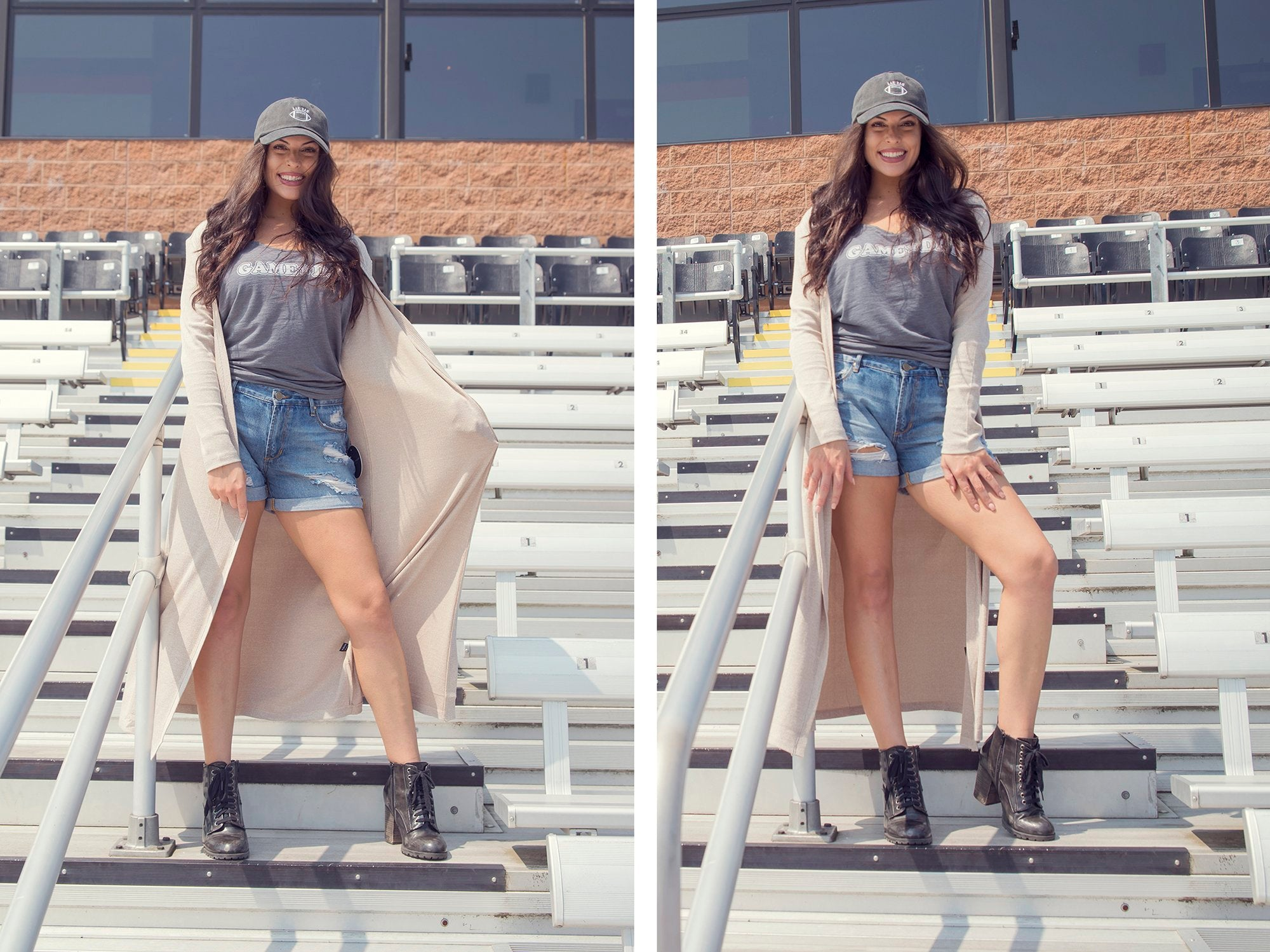 how to dress stylish for a tailgate at Eccentrics Boutique - game day outfits for women