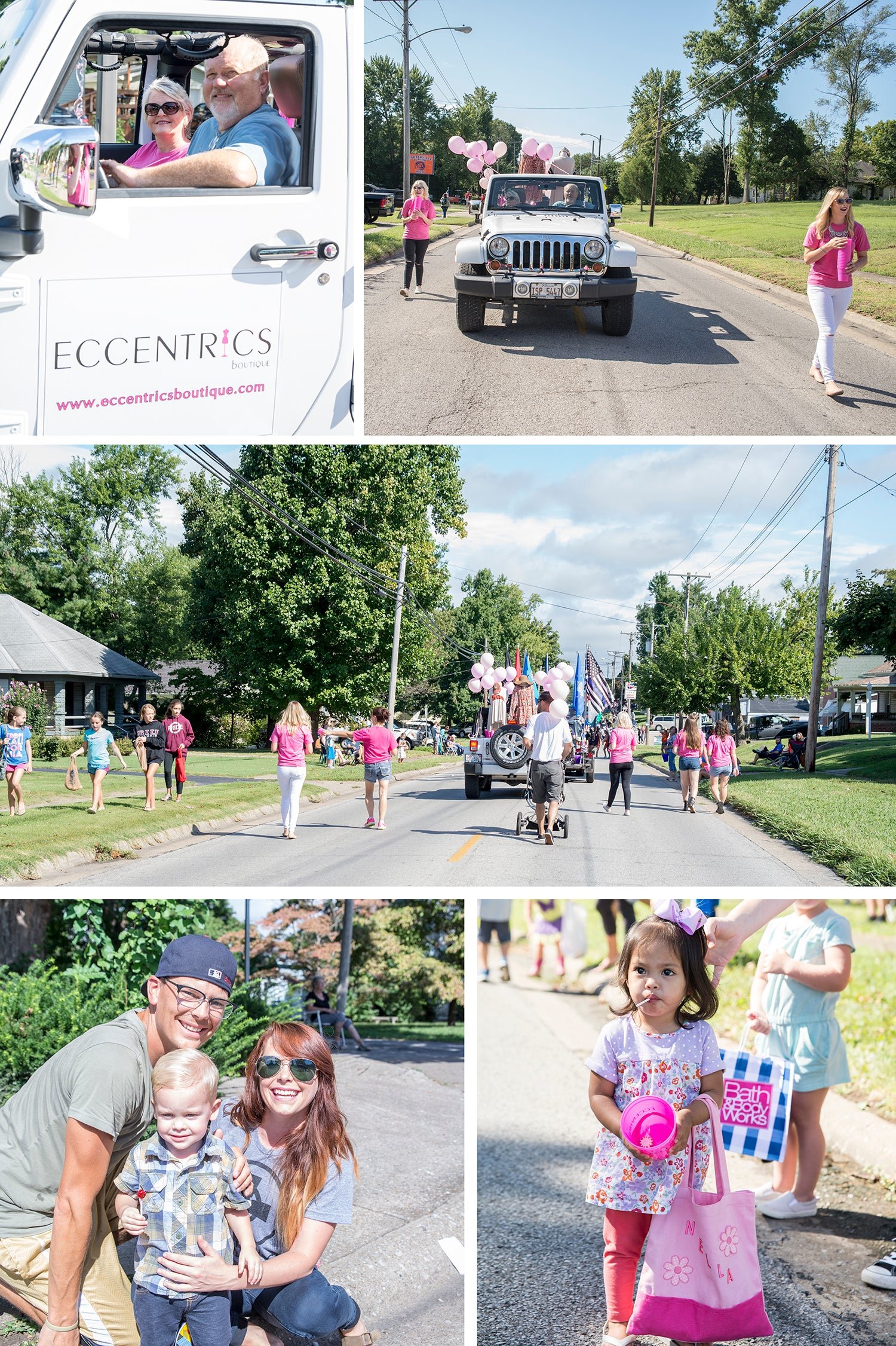 Eccentrics Boutique at Carterville Free Fair Parade
