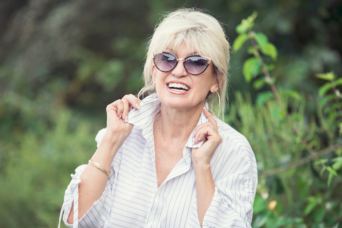 how to dress when you're retired - how to look stylish after retirement - fashion for retired women