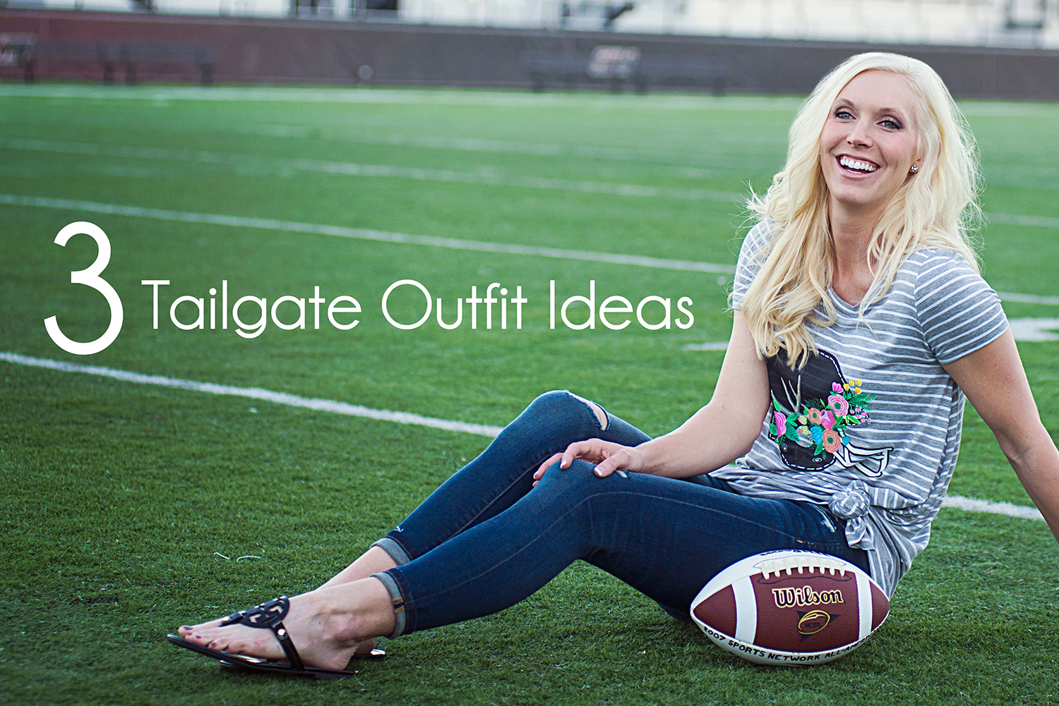 3 Trendy Tailgate Outfit Ideas for College Football Game at Eccentrics Boutique