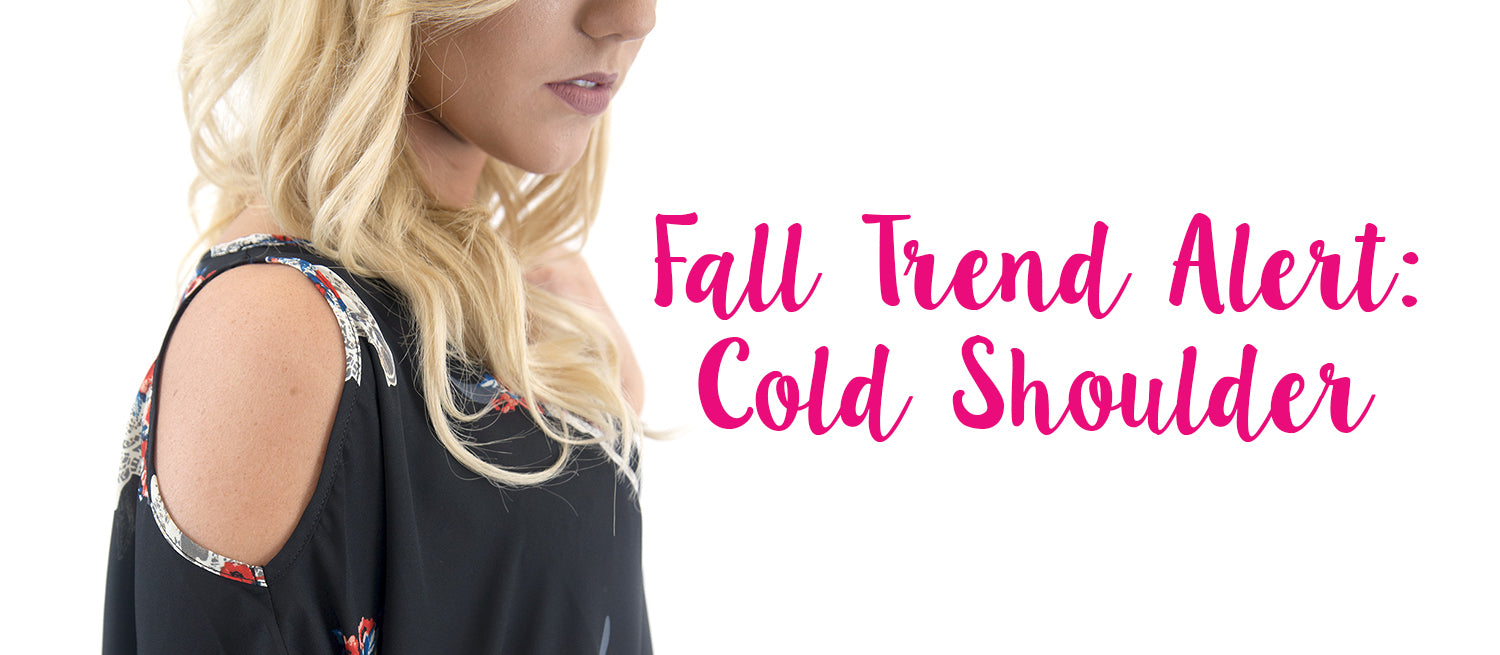 women's cold shoulder fall fashion trend at Eccentrics Boutique