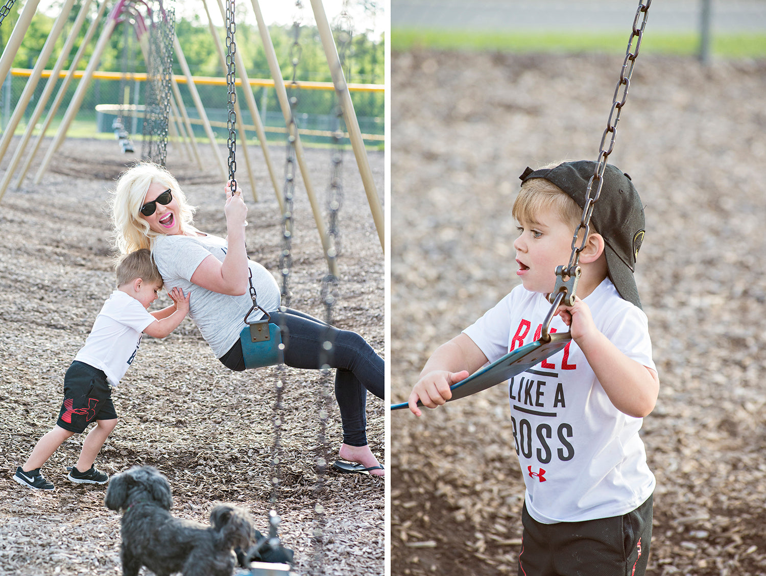 How to embrace the chaos of mom life! Mother's Day blog post.
