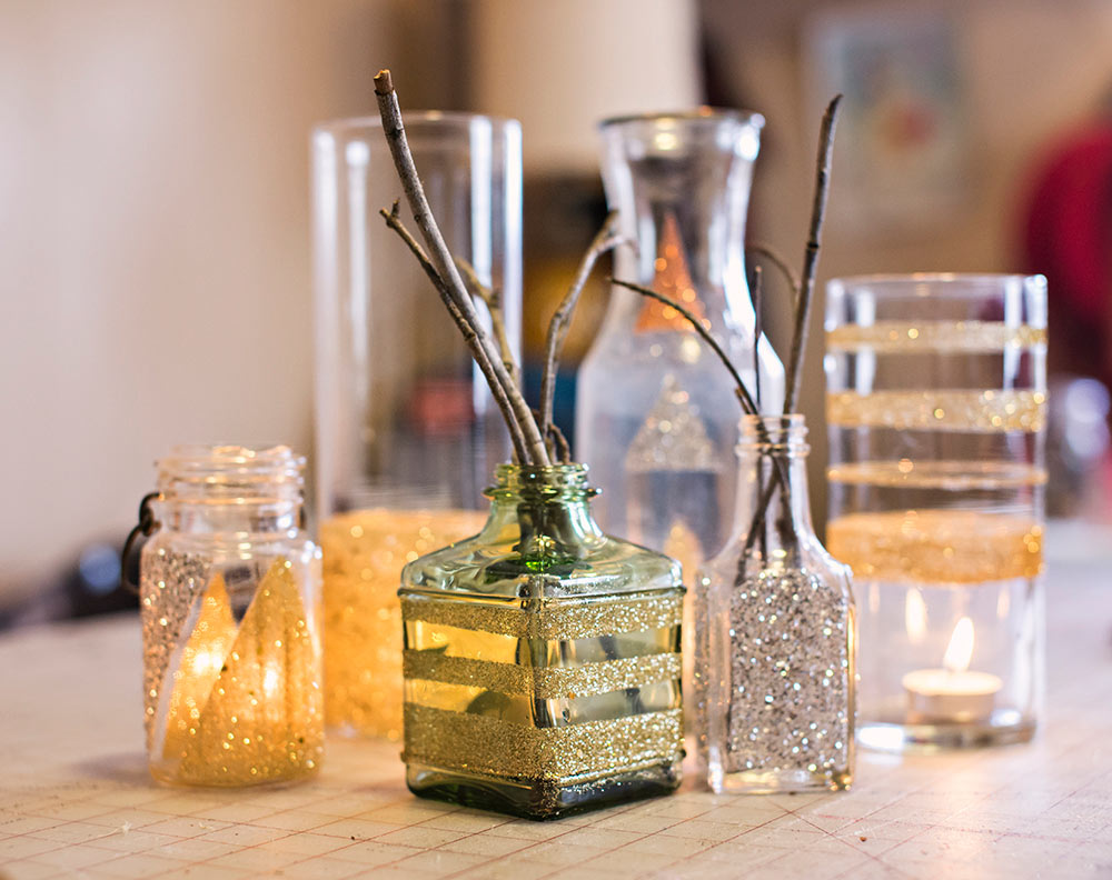 Creative sparks diy dipped glitter vase eccentrics boutique what you need reviewsmspy