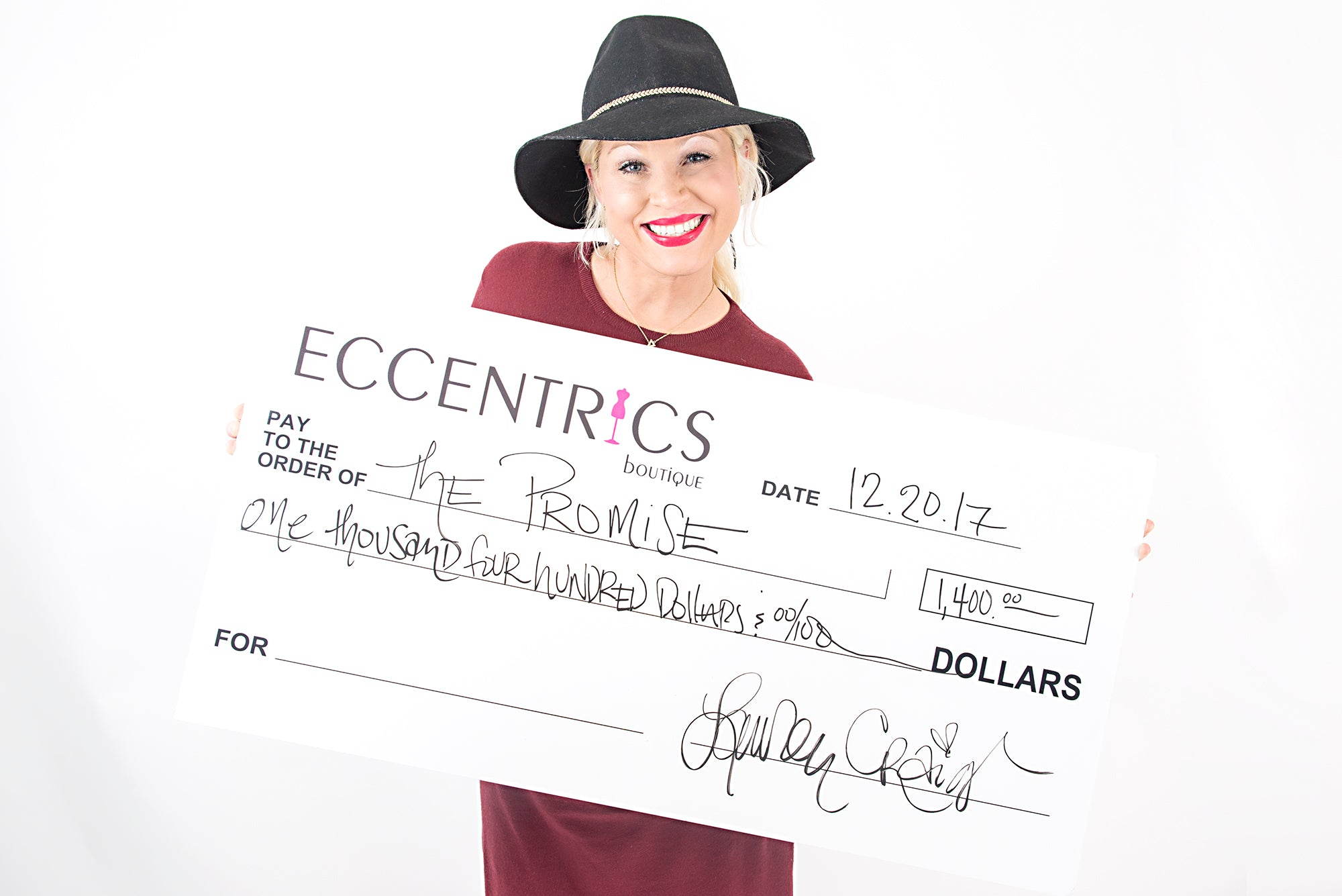 Eccentrics Boutique Give Back Beautiful: The Promise Mission in Marion, Illinois