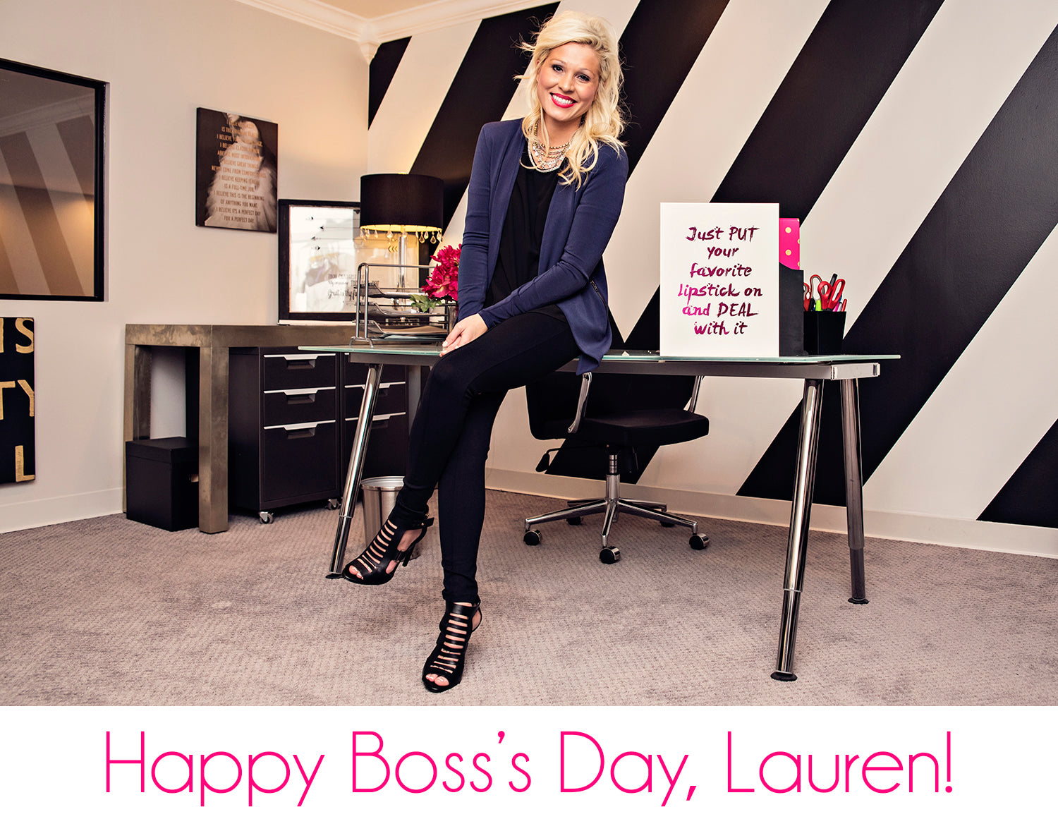 Happy Boss's Day to Lauren Craig of Eccentrics Boutique