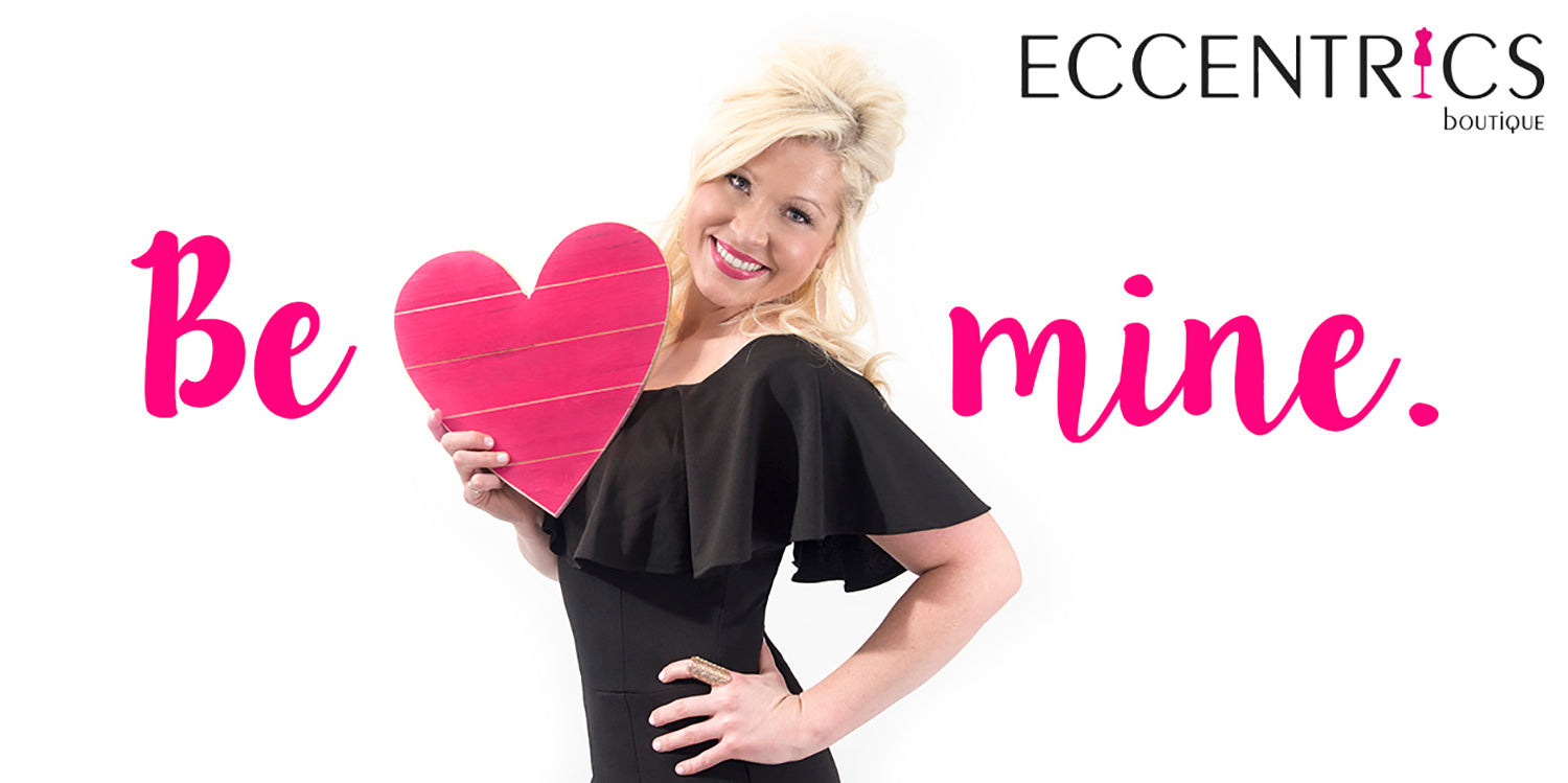 What to wear on Valentine's Day. 6 Cute Valentine's Day Outfit Ideas from Eccentrics Boutique.