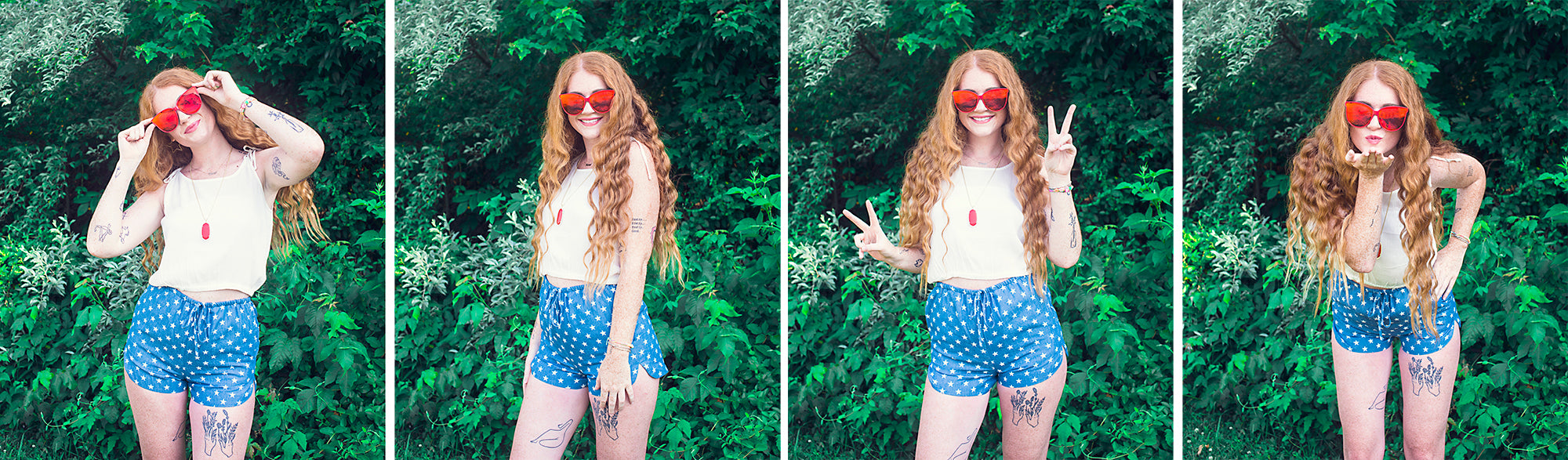 non-cheesy 4th of July outfits at Eccentrics Boutique