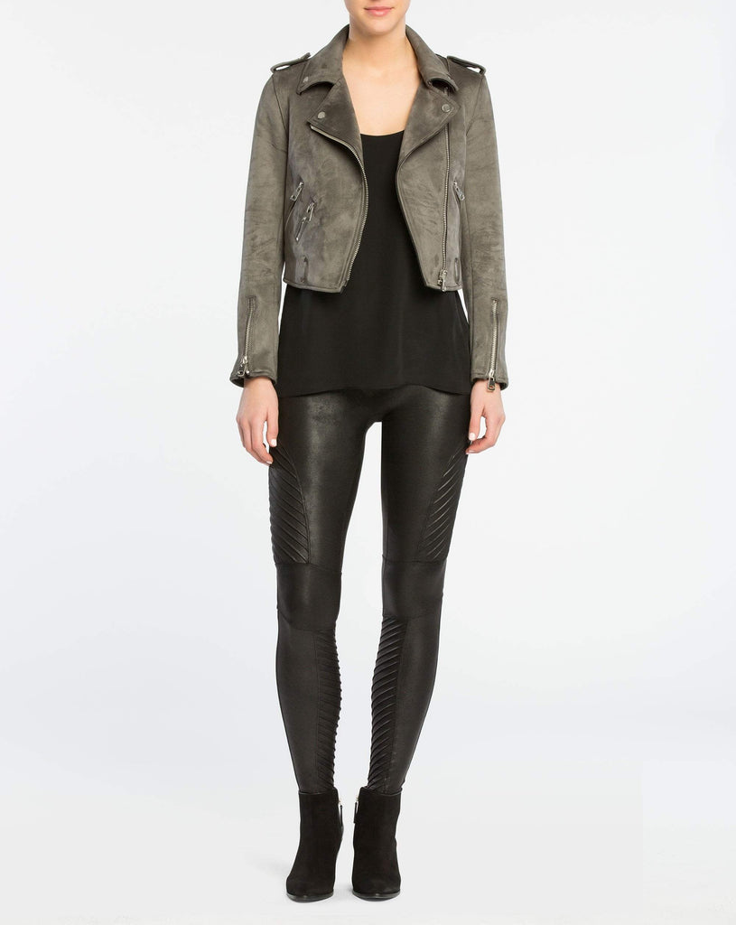 Women's Spanx Faux Leather Moto Legging - Eccentrics Boutique