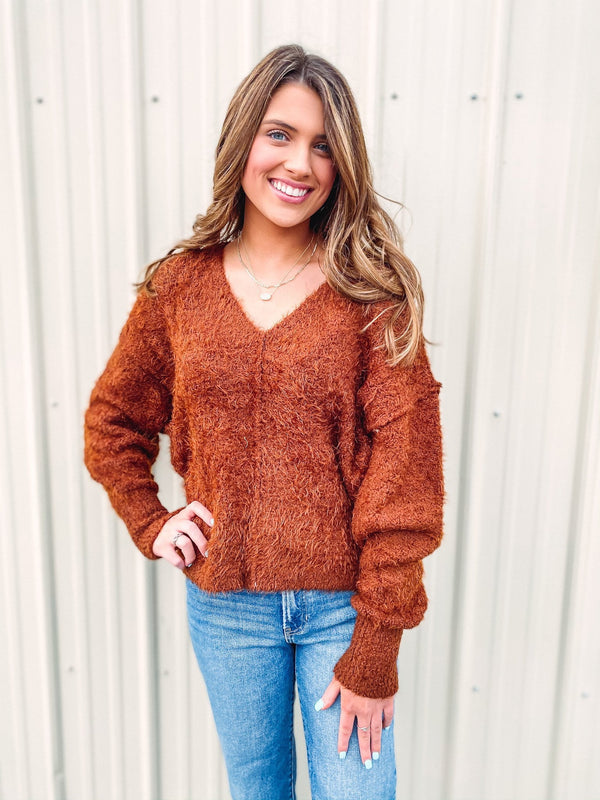 Free People Icing V-neck Pullover