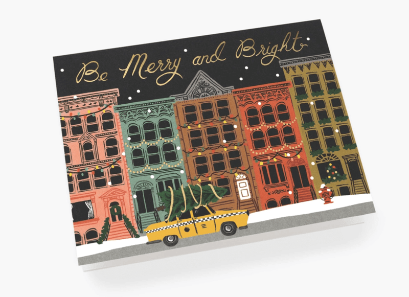 Rifle Paper- City Holiday Card