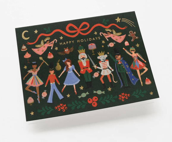 Rifle Paper Nutcracker Ballet Card