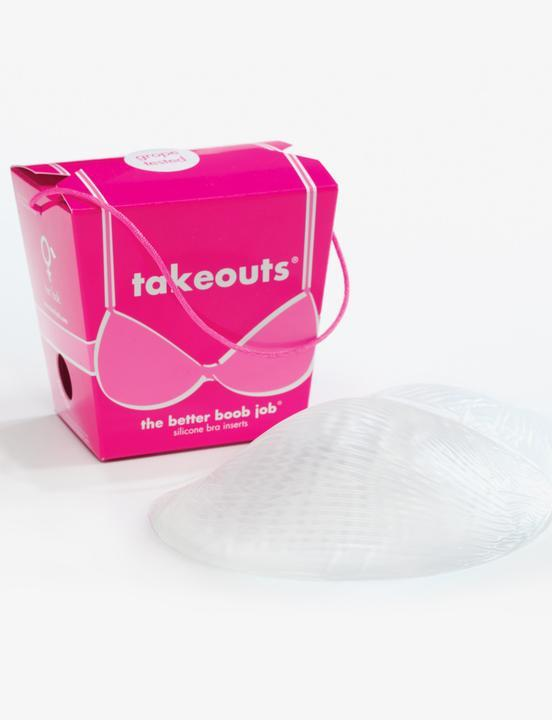 Commando Takeouts Silicone Bra Inserts - Eccentrics Boutique