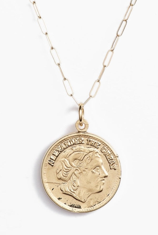 Alexander Coin Necklace