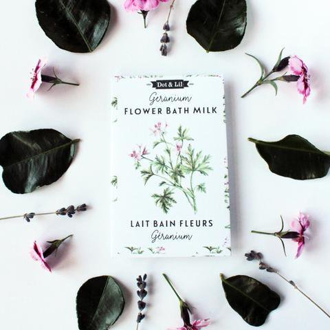 Dot & Lil Flower Bath Milk Sachet - Eccentrics Boutique