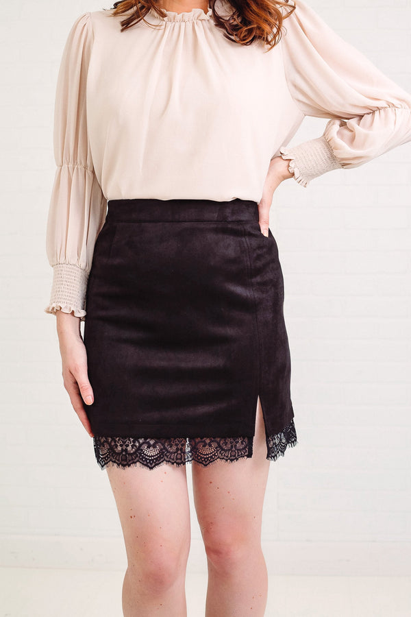 BB Dakota Melrose Lace Skirt