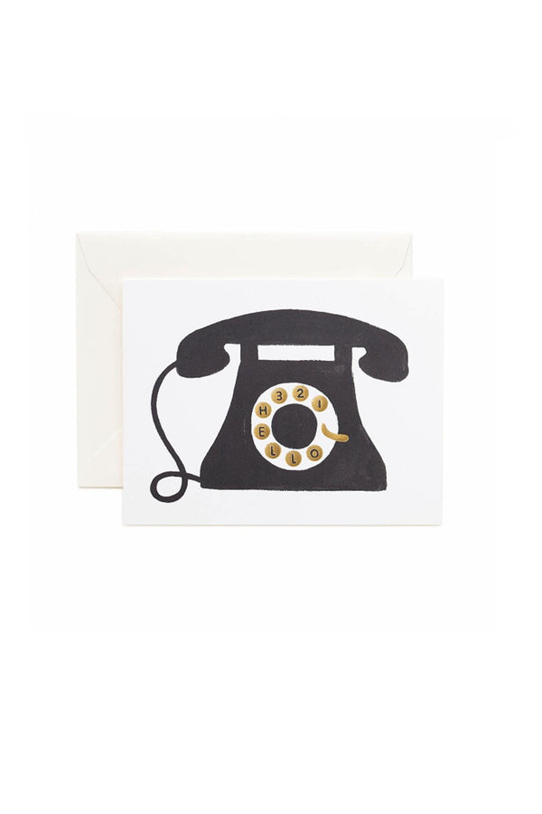 Hello Telephone Card - Eccentrics Boutique