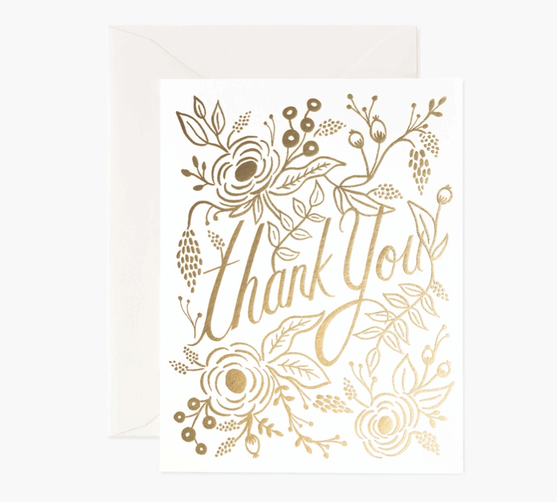 Rifle Paper Co- Marion Thank You Card