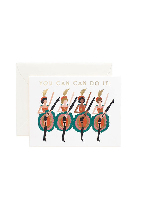 Greeting Card- You Can Can Do It! - Eccentrics Boutique