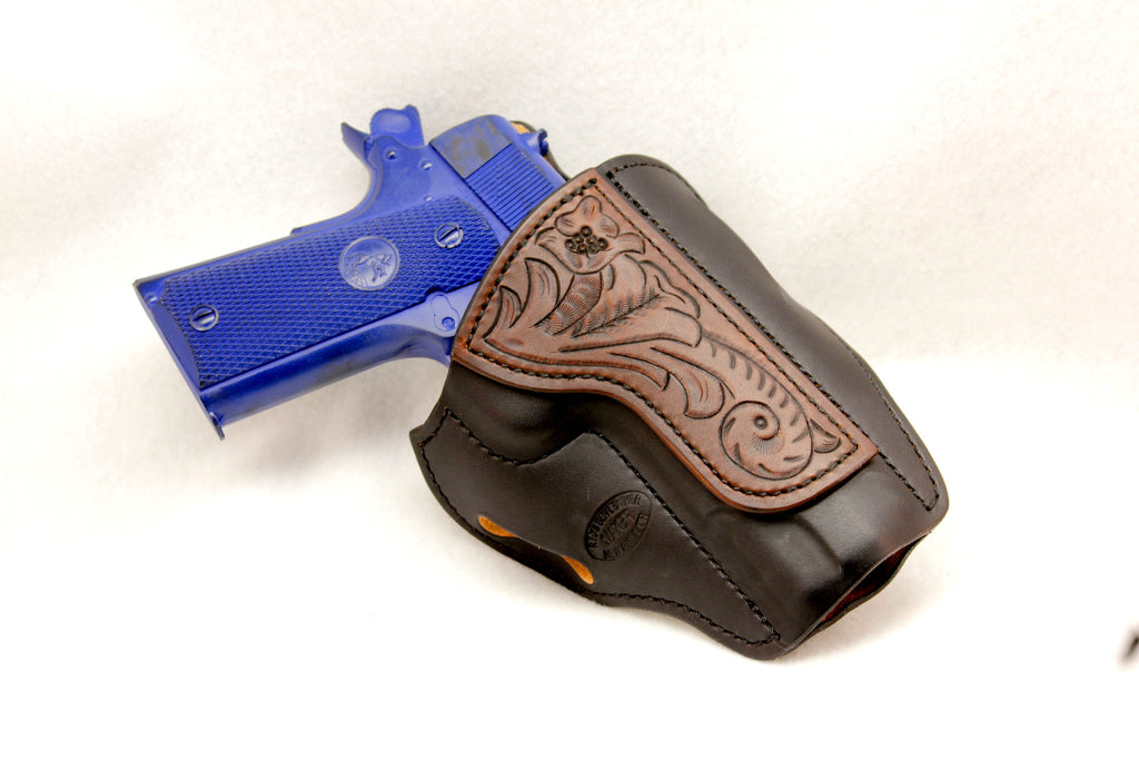 Hand Carved Pancake Holster