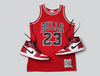 Michael Jordans 63 Point Game Jersey | Michell & Ness