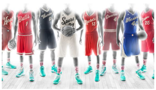 NBA Releases Christmas Day Uniforms