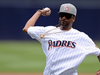 Snoop Dogg Throws Out First Pitch at Petco Park | San Diego