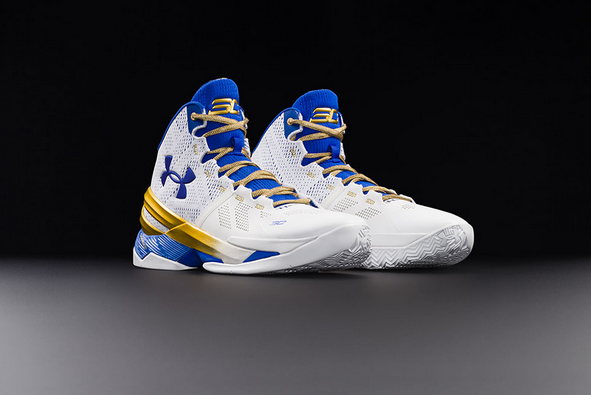 8f8e8519ae21 Under Armour x Curry Two  Gold Rings  Signature Shoe