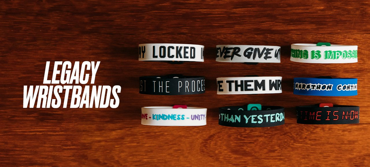Deuce Brand basketball NBA wristbands Legacy