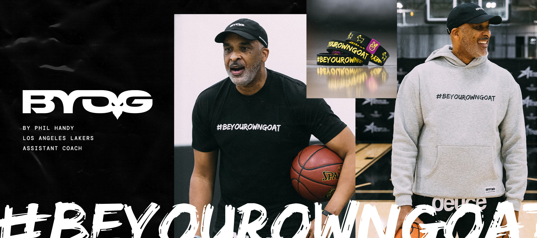 Deuce Brand be your own goat basketball apparel
