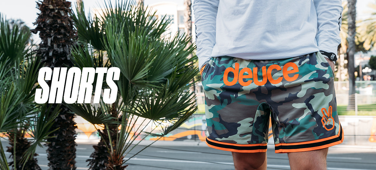 deuce brand basketball shorts