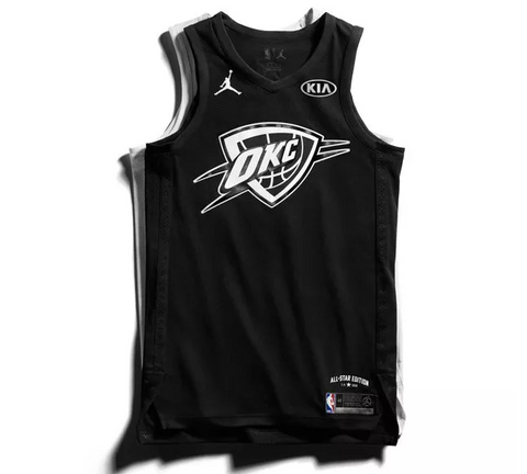 2018 NBA all star jersey kyrie Irving
