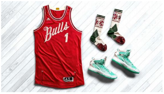 Chicago Bulls Christmas DAy