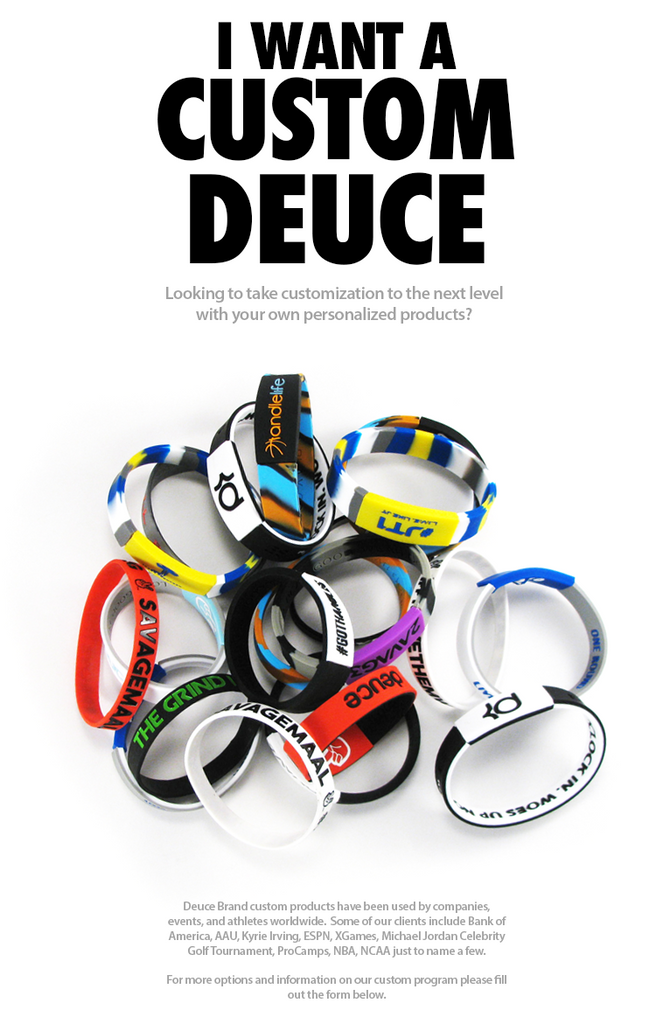 custom deuce brand band