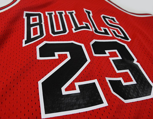 Michael Jordan throw back jersey