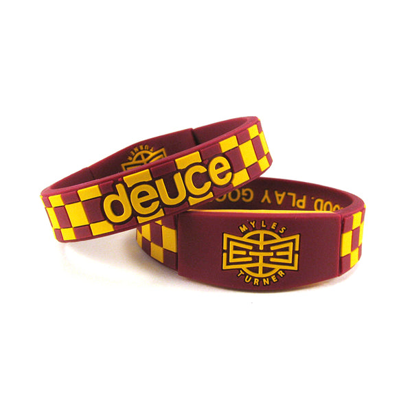 Myles Turner | Limited Edition Hickory Wristband - Deuce Brand
