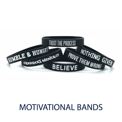 Deuce Brand nba basketball wristband motivational band
