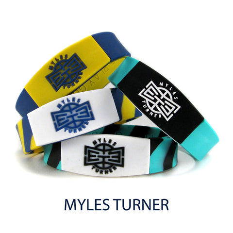 myles turner nba basketball wristband
