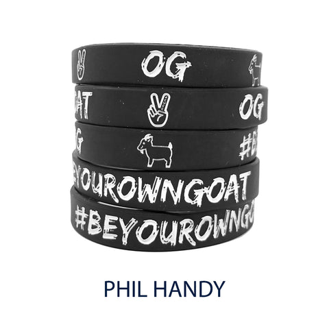 Phil handy nba basketball wristband GOAT