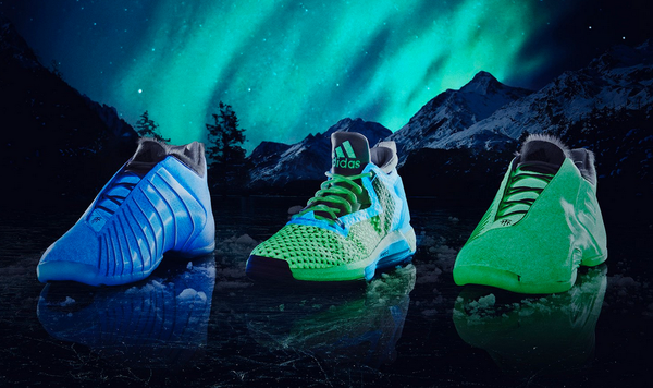 adidas aurora collection at night