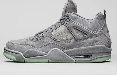 Kaws x Jordan 4 collaboration