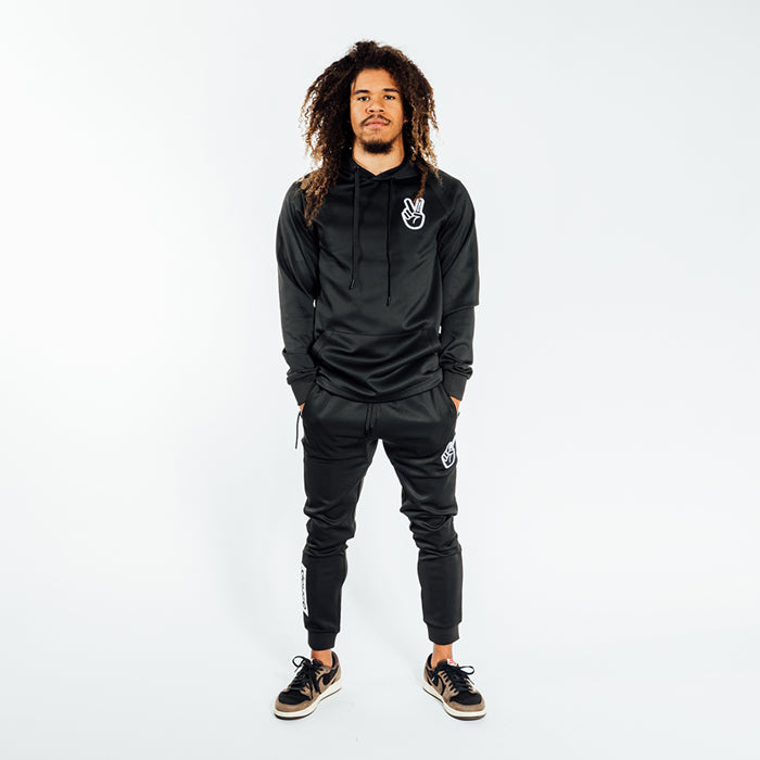 Deuce Brand athletic basketball track suit joggers hoodie nba