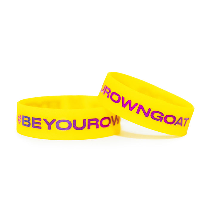 BYOG Baller Band - Yellow/Purple