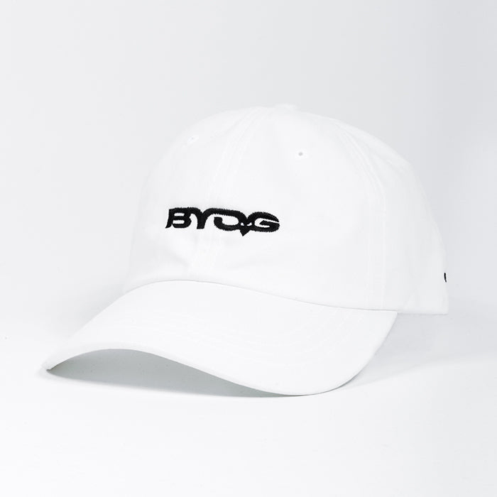 BYOG Strap Back Hat | White