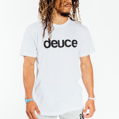 Deuce Brand basketball tshirt white nba